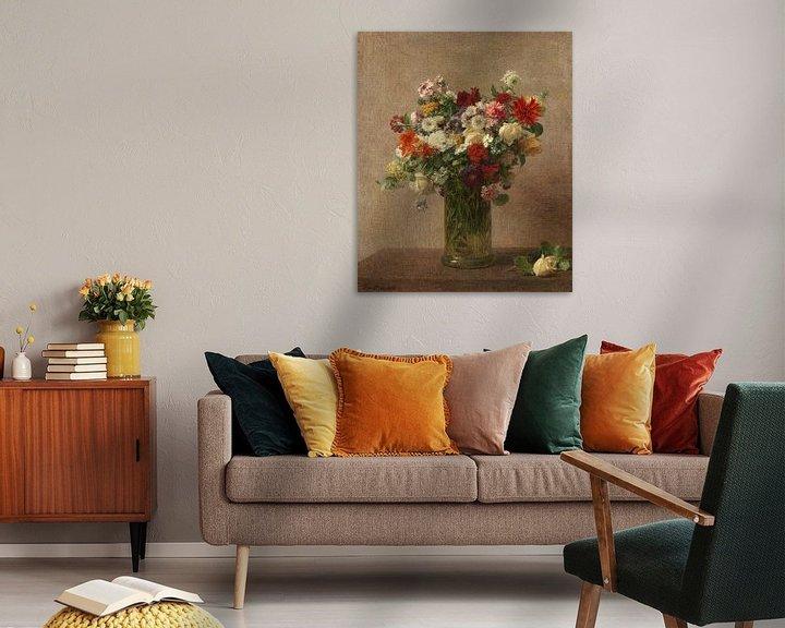 Beispiel: Blumen aus der Normandie, Henri Fantin-Latour
