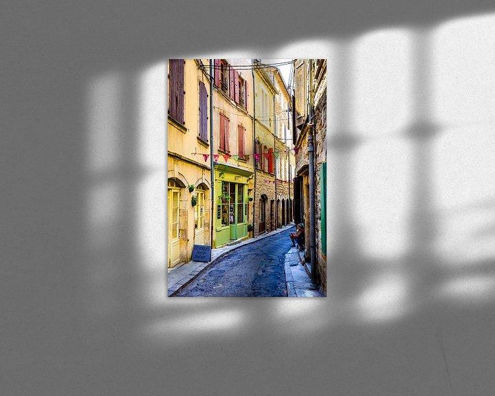 Sfeerimpressie: Oud frans straatje. van Karel Pops
