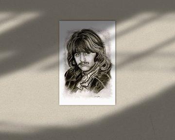 Ringo Starr In Black And White von Gitta Gläser