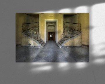 Doppelte Treppe von Perry Wiertz