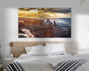 Island in the Sky Canyonlands van Samantha Schoenmakers