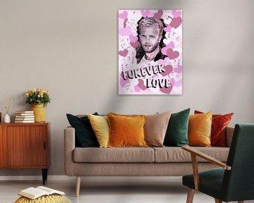 Gary Forever Love In Pink von Gitta Gläser