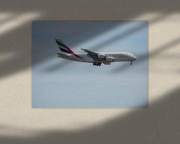 Airbus van  Emirates Dubai van Joke te Grotenhuis