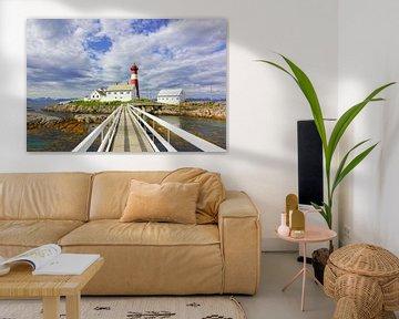 Tranøy Fyr - Leuchtturm in  Norwegen von Gisela Scheffbuch