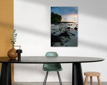 Amuri Beach, Aitutaki - Cook Islands von Van Oostrum Photography