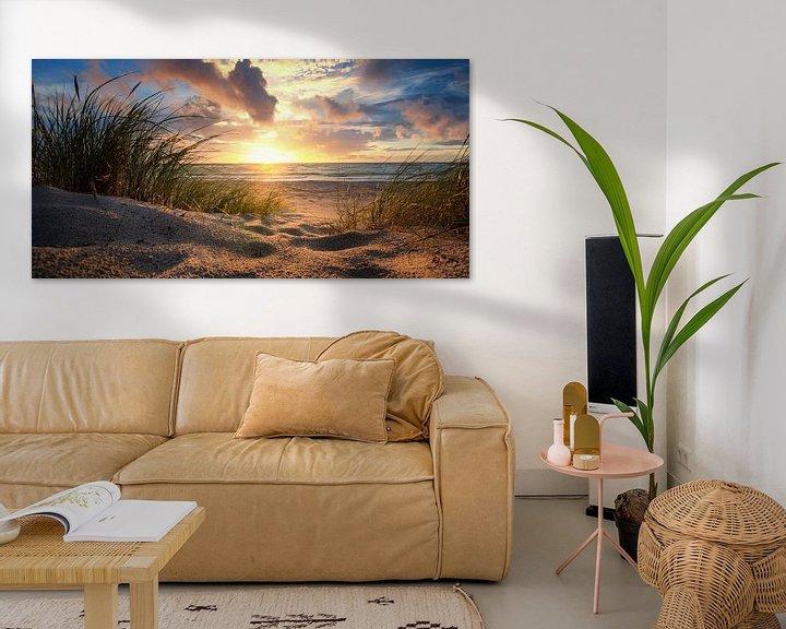 Beispiel: Sonnenuntergang an der Ostsee von Steffen Gierok