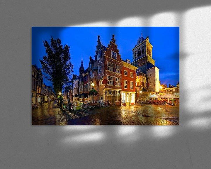 Sfeerimpressie: De Kaerskorf te Delft van Anton de Zeeuw
