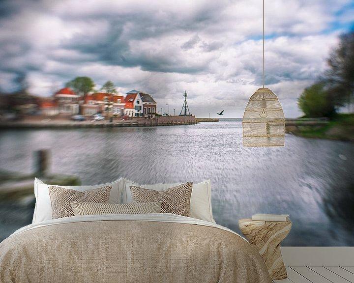 Sfeerimpressie behang: Medemblik, You are beautiful today van Marijke Trienekens