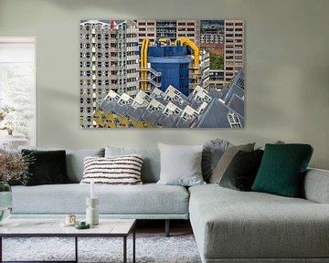 Rotterdam: Kubussen, Potlood en Bieb