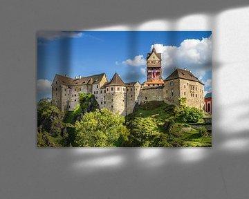 BÖHMEN Burg Loket von Melanie Viola