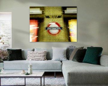 Bayswater - London Tube Station van Ruth Klapproth