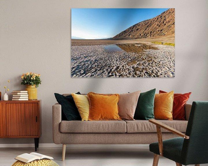 Sfeerimpressie: Badwater basin  in Death Valley van Ronald Tilleman