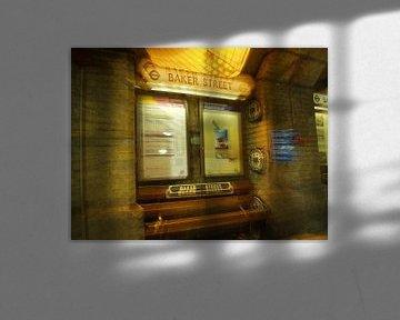 Baker Street - London Tube Station sur Ruth Klapproth