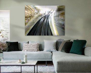 Farringdon - London Tube Station sur Ruth Klapproth