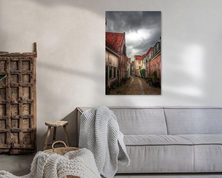Sfeerimpressie: Muurhuizen historisch Amersfoort van Watze D. de Haan