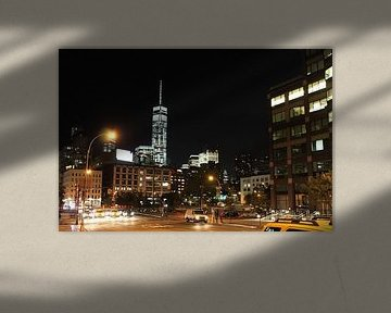 Freedom Tower - New York City - By Night van Daniel Chambers
