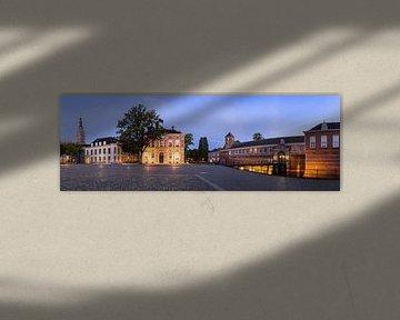 Panorama Kasteelplein Breda van JPWFoto