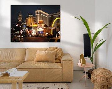 Las Vegas - Nighttime van Daniel Chambers
