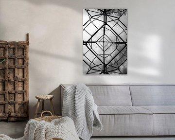 geometrisch klimrek von Eline Willekens