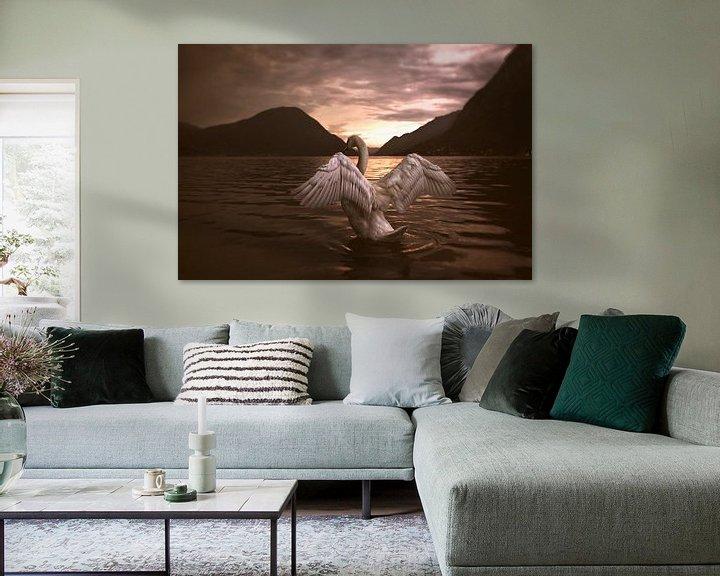 Beispiel: Queen of the lake von Peggy Saffrie