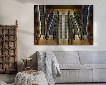 Rolltreppe Symmetrie von Cor de Hamer