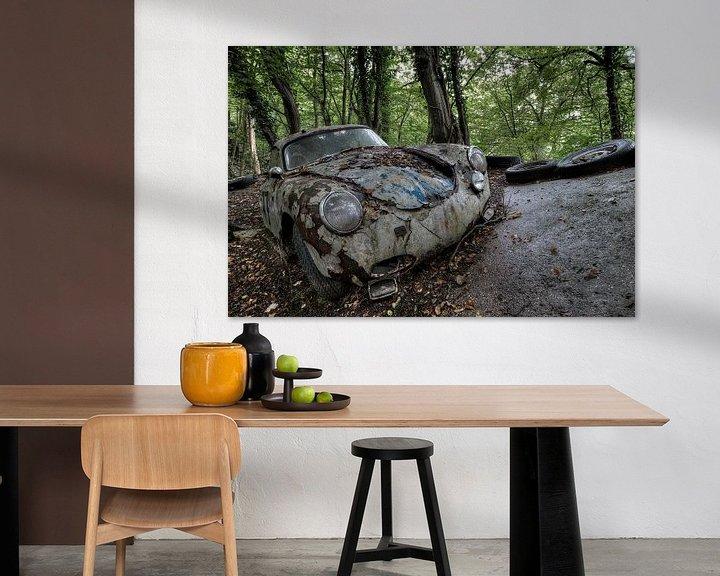 Beispiel: Roestige Porsche von Kristel van de Laar