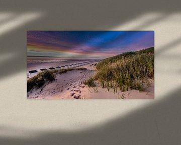 Paal 28 strand - Texel  sur Texel360Fotografie Richard Heerschap