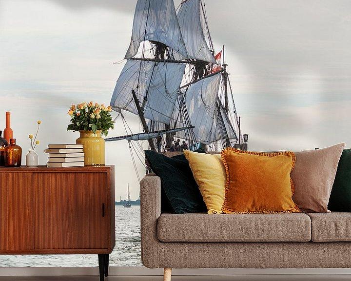 Impression: VOC schip De halve Maen sur Eric de Kuijper