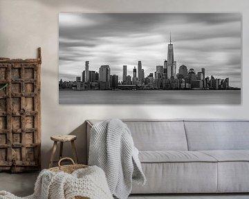 New York Skyline - View from Hoboken (10) van Tux Photography