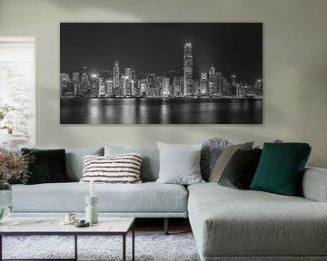 Hong Kong bei Nacht - Skyline bei Nacht - 4 von Tux Photography