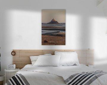 Le Mont Saint Michel von Ian Segers