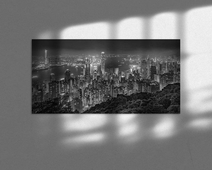 Beispiel: Hong Kong bei Nacht - Victoria Peak - 6 von Tux Photography
