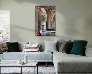 Verlassenes Taufbecken von Frans Nijland