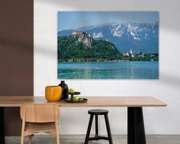 View on Lake Bled (Slovenia) sur Rob van der Pijll