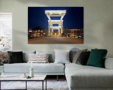 Skinny Bridge @ Nacht Amsterdam