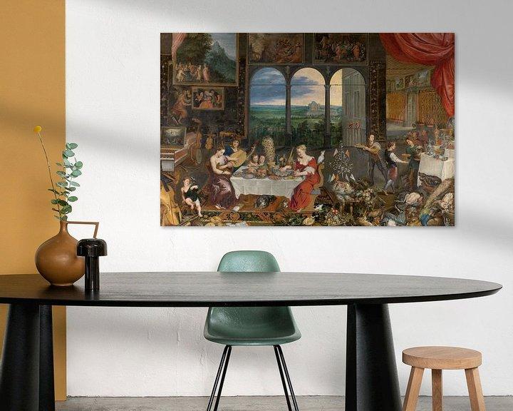 Beispiel: Schmecken, Hören, Fühlen, Jan Brueghel und Peter Paul Rubens