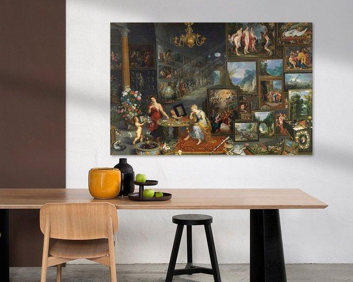 Beispiel: Sehen und Riechen, Jan Brueghel und Peter Paul Rubens