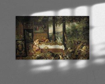 Die fünf Sinne: Geschmack, Jan Bruegel der Ältere und Peter Paul Rubens