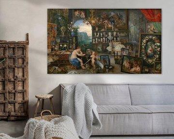 Die fünf Sinne: Sehen, Jan Brueghel der Ältere und Peter Paul Rubens