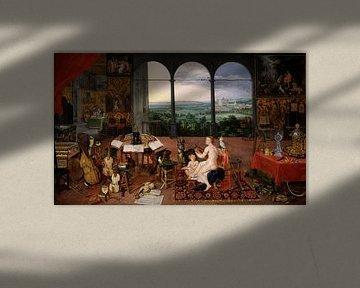 Die fünf Sinne: Hören, Jan Brueghels und Peter Paul Rubens