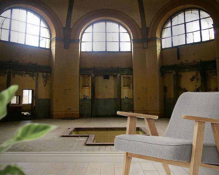 Beispiel fototapete: Oud badhuis von XPOOZ your identity