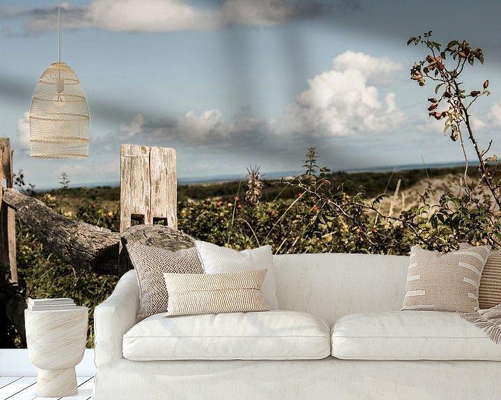 Beispiel fototapete: Holzbalken von seth esenkbrink