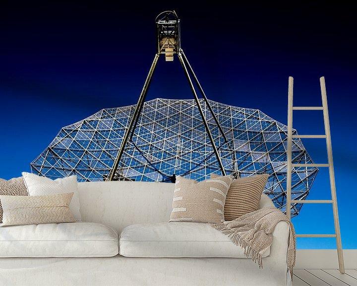 Sfeerimpressie behang: Kijkje de ruimte in van seth esenkbrink