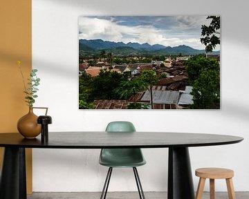 Uitzicht Luang Prabang Laos van Eline Willekens
