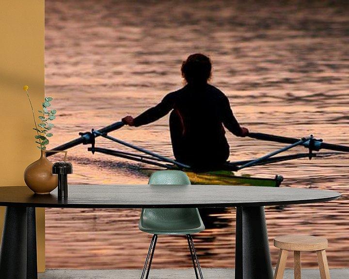 Impression: Rower sur Sybren Visser