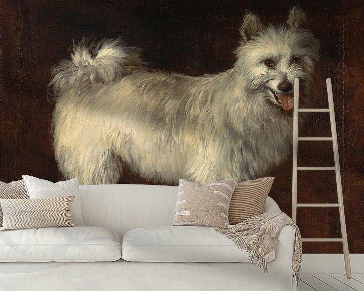 Beispiel fototapete: Thomas Gainsborough. Spitz Dog
