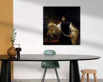 Rembrandt. Aristoteles mit einer Büste Homer
