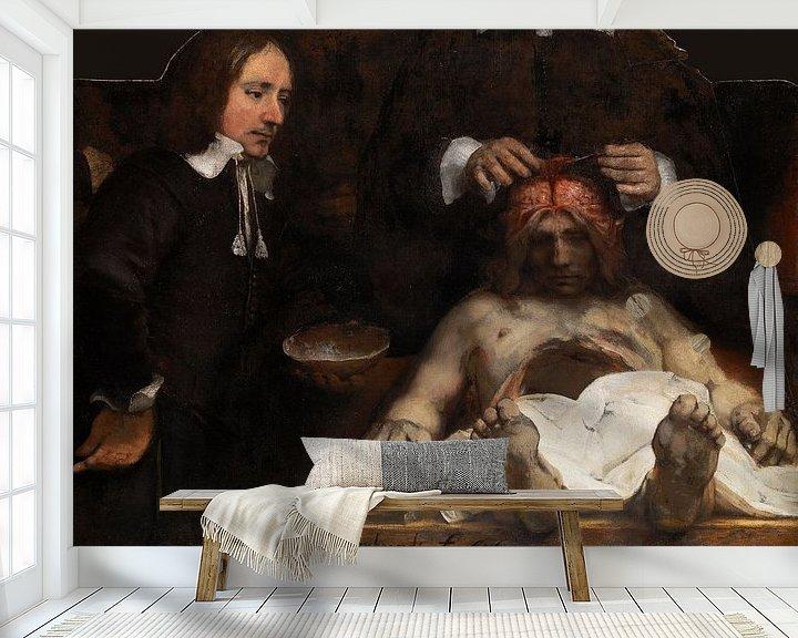 Beispiel fototapete: Rembrandt. Anatomielektion Dr. Jan Deijman