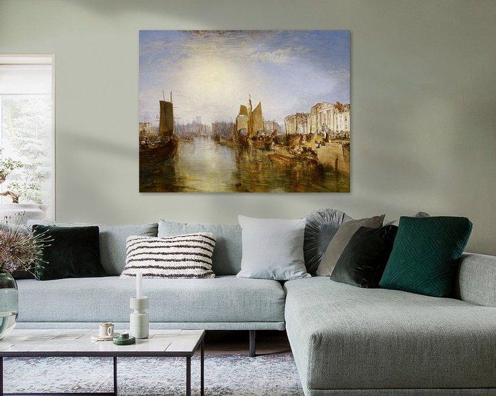 Beispiel: William Turner. The Harbor of Dieppe