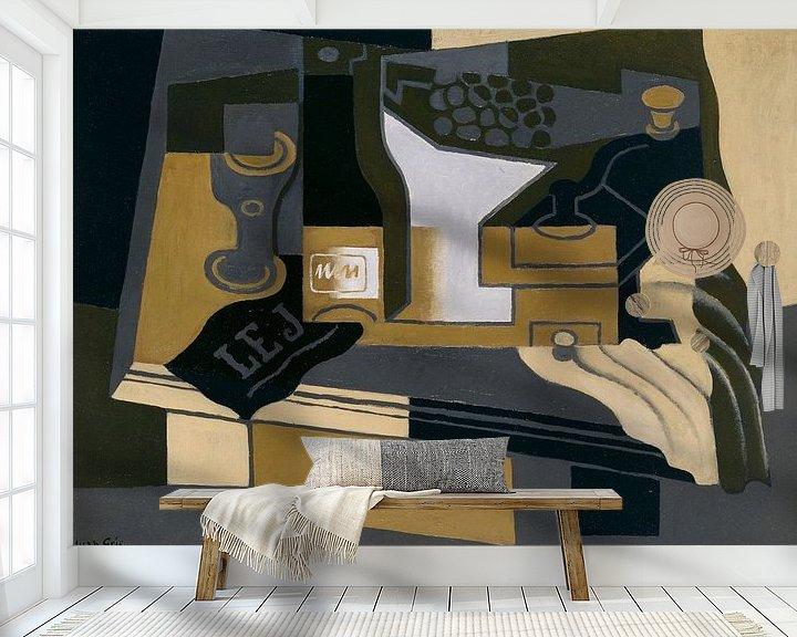Beispiel fototapete: Juan Gris. Le moulin à café